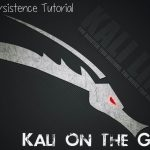 Kali Linux live usb persistence tutorial