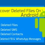 Recover Deleted Files in android